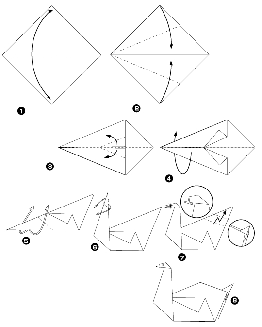 Origami του κύκνου