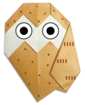 Origami of owl, picture of menu