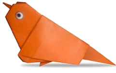 Origami din Sparrow , imagine din meniu