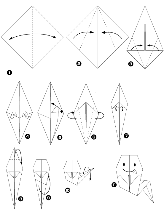 Origami aave