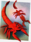 Origami of the zodiac: the scorpio